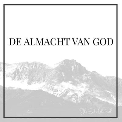 Almacht van God