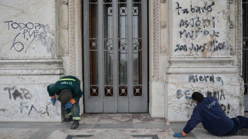 grafitis vandalicos