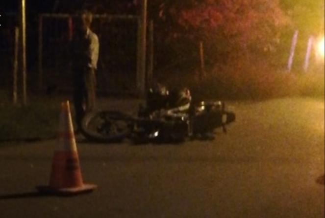 ACCIDENTE GRAVE ENTRE DOS MOTOS