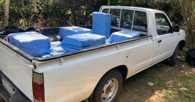 LA POLICÍA PRESUME QUE LA AVIONETA CON 450 KILOS DE COCAÍNA VINO DE BOLIVIA: LOGRÓ ESCAPAR