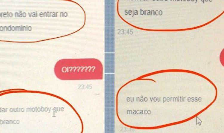 BRASIL: DENUNCIAN A MUJER QUE RECHAZÓ DELIVERY POR SER NEGRO Y LO TRATÓ DE MONO