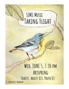 SIMS Spring Concert @ Artspring