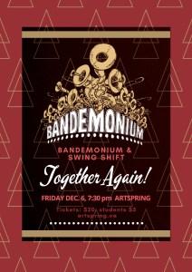 Together Again! - Bandemonium & Swing Shift @ Artspring