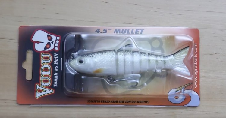 Egret Baits Vudu Mullet Pack