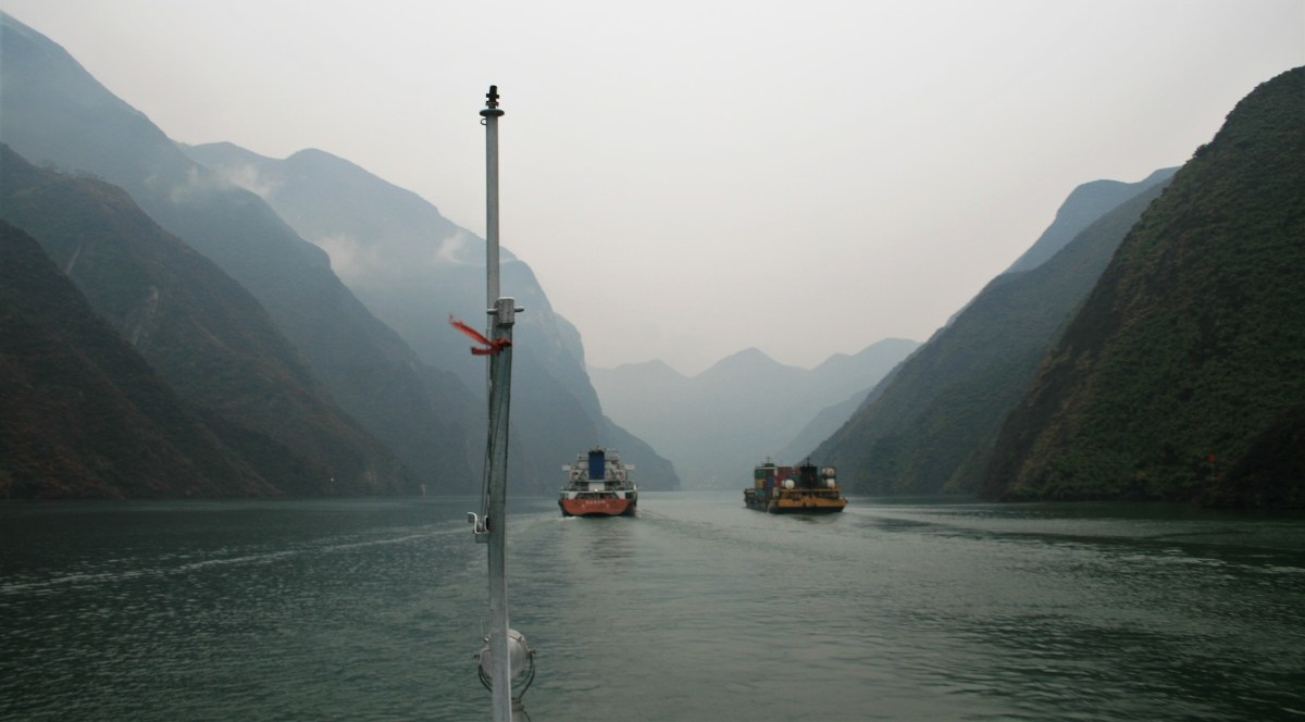What Lies Beneath? Above the Three Gorges Dam