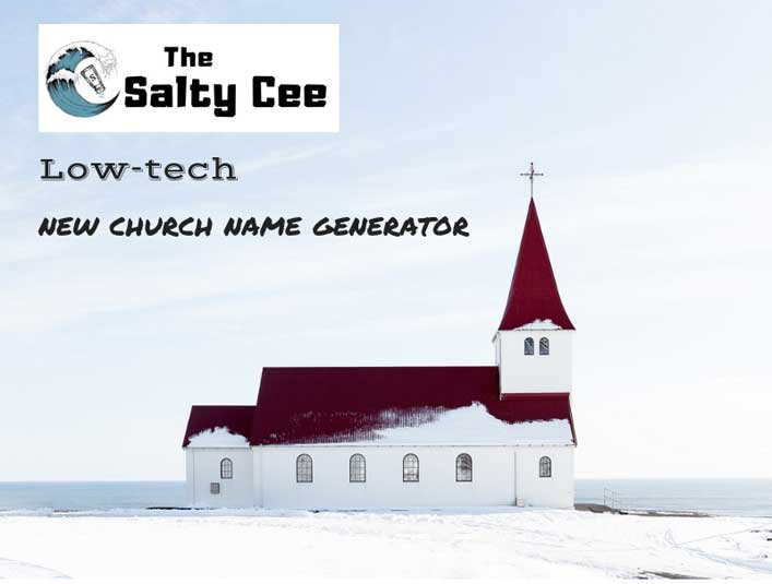 church name generator