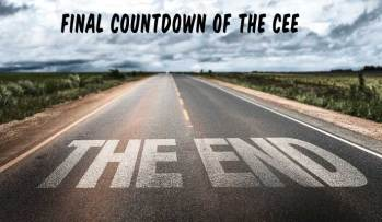 Announcement: The final countdown of the Cee begins…