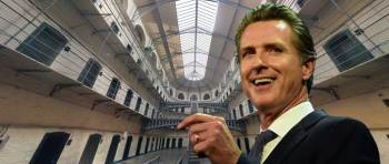 Gavin Newsom solves California's prison overcrowding with this one quick trick!