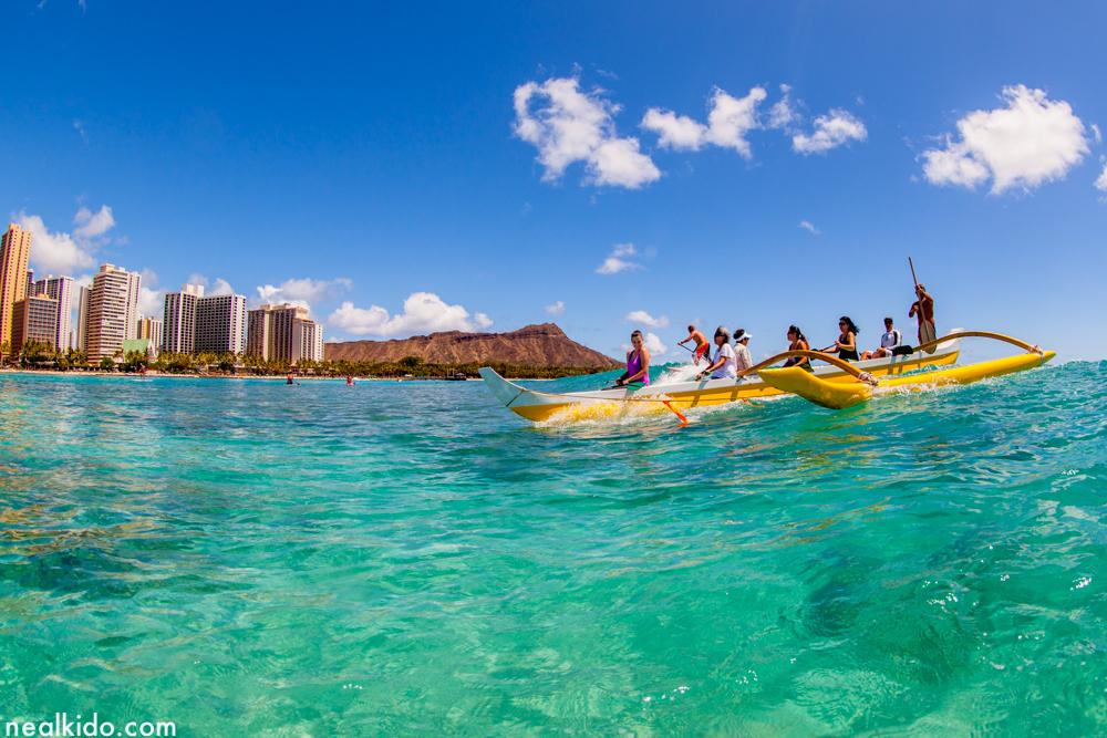 Canoes, Waikiki