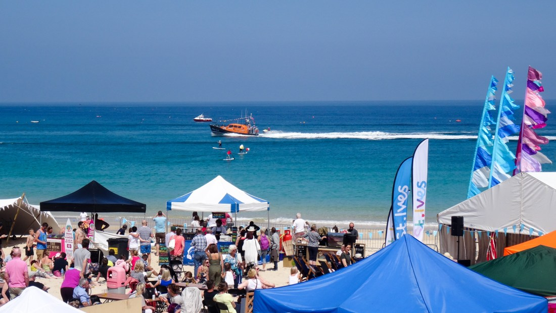 st ives food festival, Cornish Events this May
