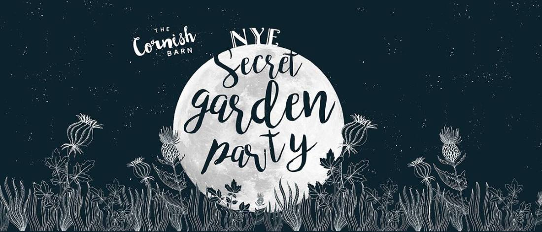 secret garden party the cornish barn NYE 2016