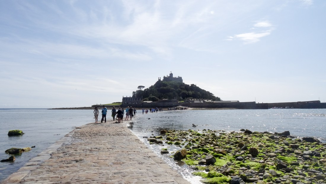 st michaels mount holiday in cornwall
