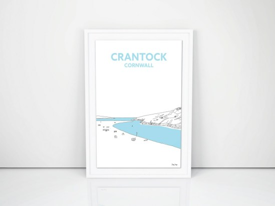 cornish prints crantock newquay