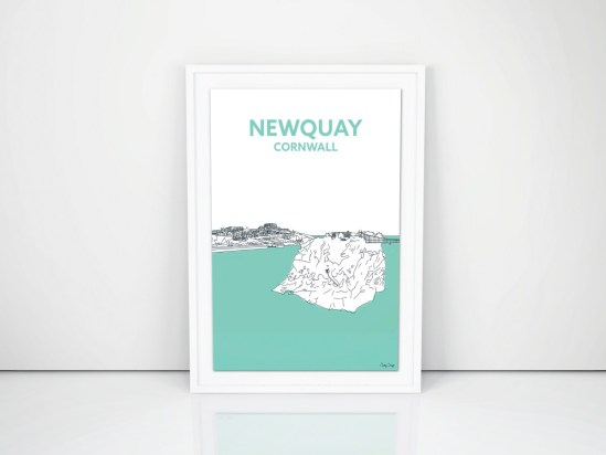 cornish prints newquay cornwall