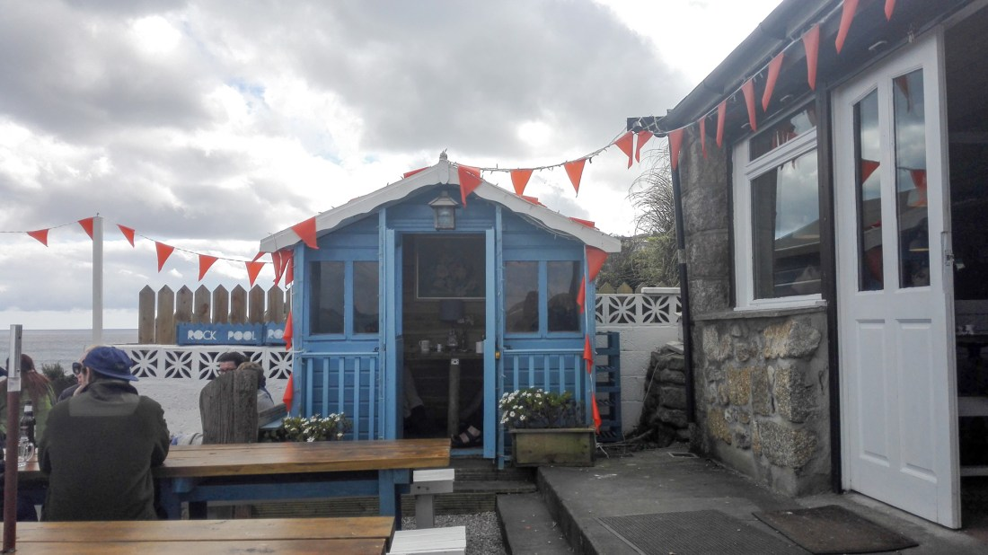 Rock Pool Cafe, Mousehole Cornwall
