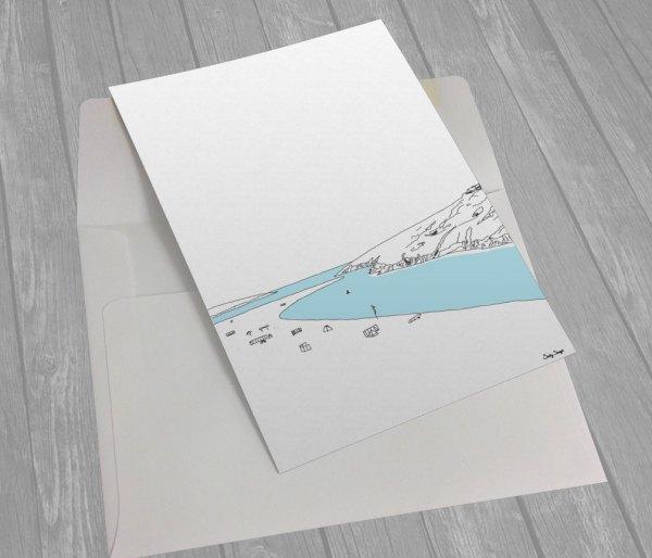 Crantock Greeting Card