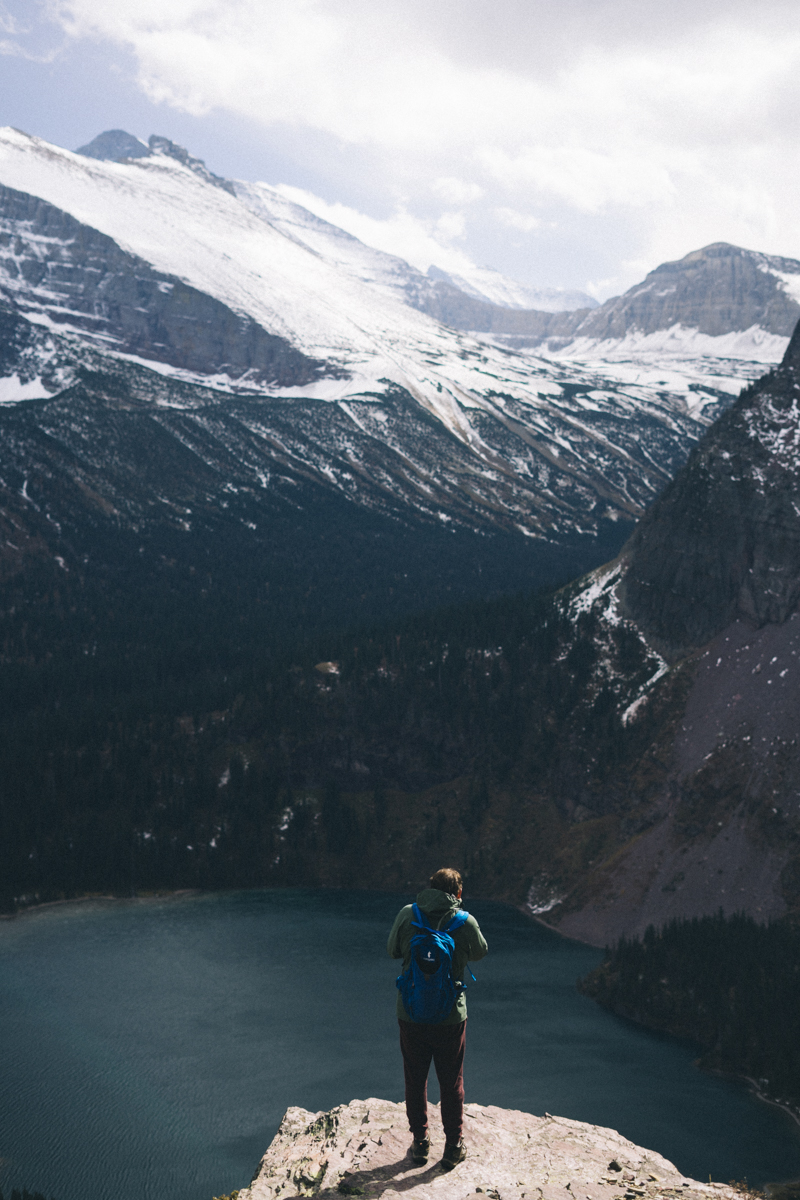 Grinnell Glacier in Glacier National Park. This looks absolutely breathtaking. | GNP Montana | saltyspaces.com