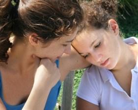Adolescente y mamá