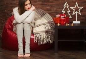 Tristeza en fiestas navideñas y depresión