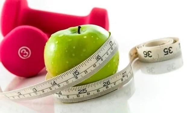 manzana bajar de peso