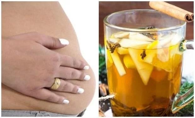 Agua de ajo canela y limon para adelgazar