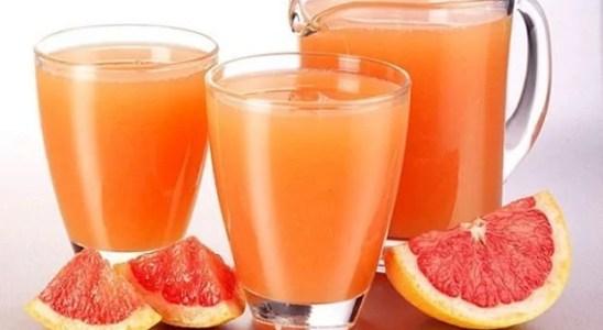 jugo de pomelo y sidra de manzana quema grasa