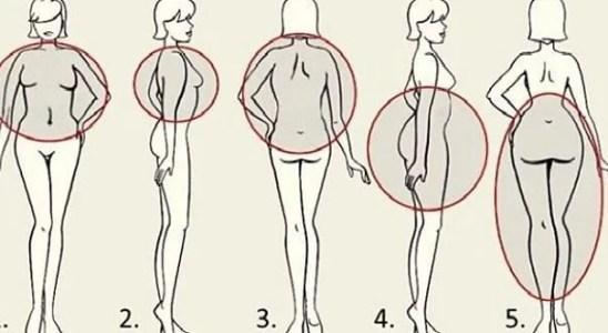 5 areas del cuerpo donde acumulamos grasa