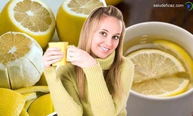Propiedades Y Beneficios Del Te De Cascara De Limon Salud Eficaz