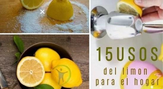 15 usos del limon para el hogar que te sorprenderán