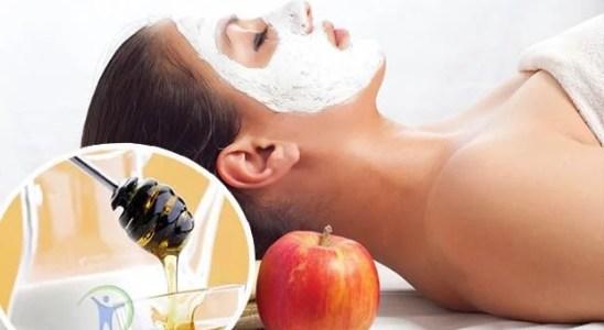 Mascarilla de manzana para cerrar los poros dilatados