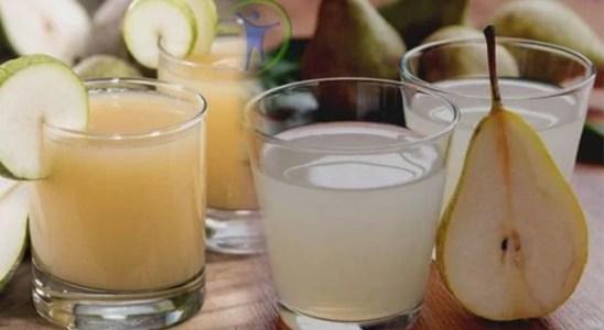 Propiedades y beneficios del jugo de pera