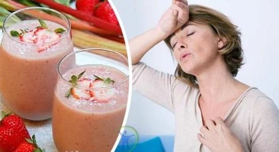 Batido para aliviar los síntomas de la menopausia