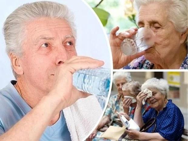 Como evitar la deshidratación en la tercera edad