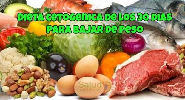 dieta cetogenica de los 30 dias para bajar de peso