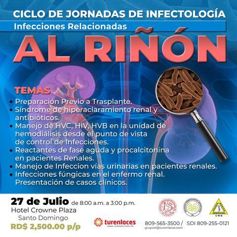 Jornada de Infectología dedicada al Riñón