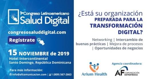 Arium Health anuncia agenda Primer Congreso Latinoamericano de Salud Digital