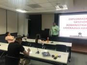 El Ney Arias Lora capacita personal en Gestión Administrativa y Liderazgo Gerencial