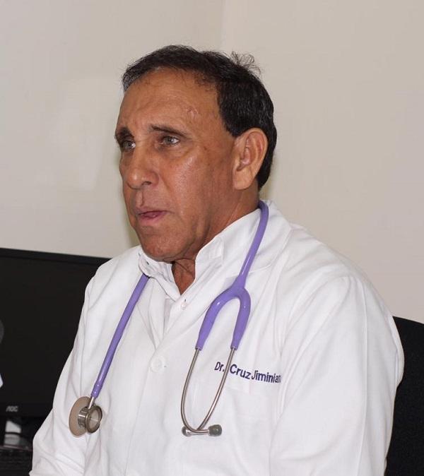 Cruz Jiminián mejora en su condición general de salud