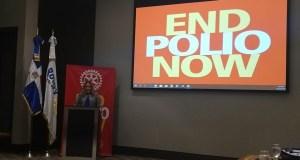 Distrito 4060 de Rotary International celebra Día Mundial contra la Polio
