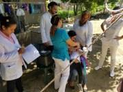 SNS en la Comunidad realiza jornada de vacunación contra el polio