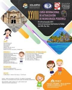 XXVIII Curso Internacional de Actualización de Neurocirugía Pediátrica @ Hotel Emotions by Hodelpa | Playa Juan Dolio | San Pedro de Macoris | República Dominicana