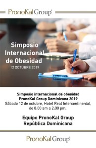 Simposio Internacional de Obesidad PronoKal Group 2019 @ Hotel Real Continental | Santo Domingo | Distrito Nacional | República Dominicana