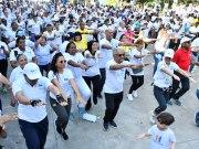 Salud Pública realiza caminata en la Semana del Bienestar del organismo sanitario