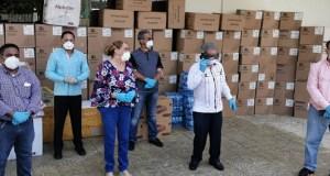 CMD entrega materiales y equipos de bioseguridad para médicos que luchan contra el COVID-19