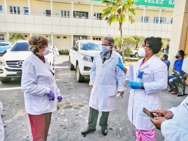 CMD dice hospital Marcelino Vélez, dispuesto para COVID-19, carece de pruebas PCR