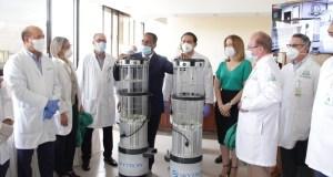 Instalan por primera vez en el país robot de desinfección contra Covid-19, virus y bacterias