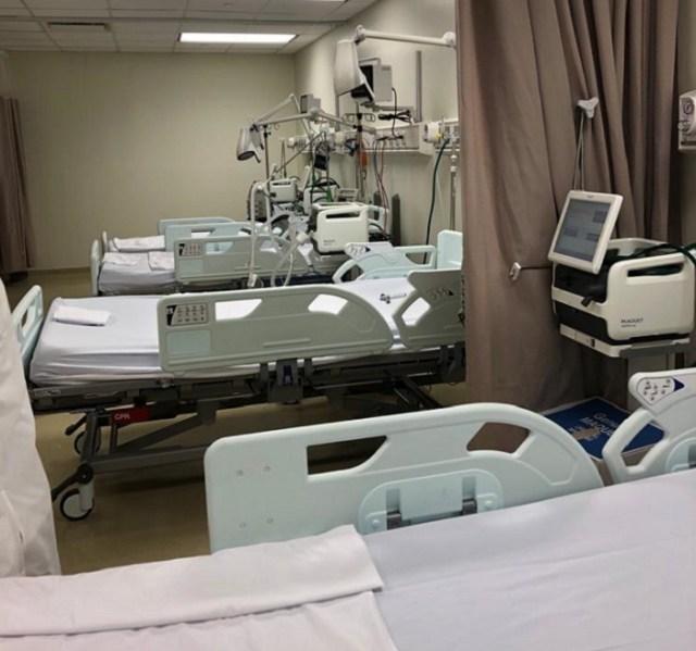 Ocupación hospitalaria por Covid-19 disminuye considerablemente en el país