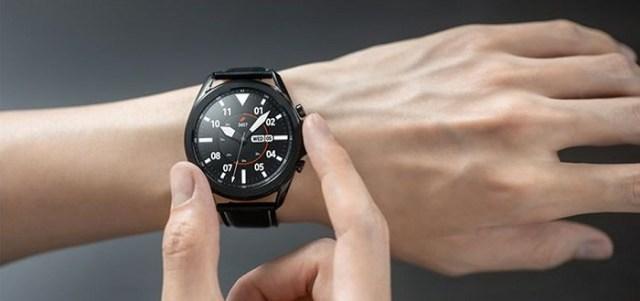 Samsung presenta el reloj inteligente Galaxy Watch 3 centrado en la salud
