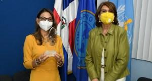 Salud Pública reconoce labor representante OPS/OMS Alma Morales