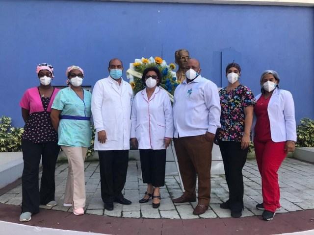 Director del Moscoso Puello destaca labor personal sanitario Unidad Covid del centro